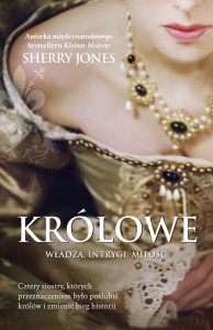 The beautiful cover of QUEENS, my latest novel, in Polish.